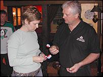 Jennifer Quinn and Rod Harrington