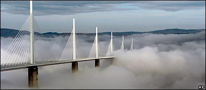 Norman Foster's bridge at Millau