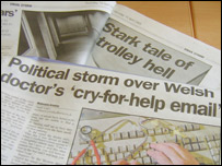 Western Mail headlines