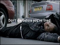 Still from TfL advertisement