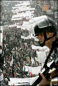 Amman's rally