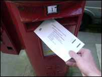 Postal vote