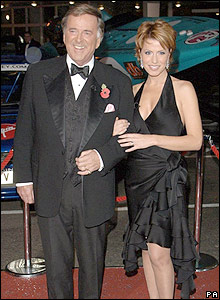 Terry Wogan and Natasha Kaplinsky