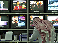 The al-Jazeera newsroom