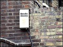 Burglar alarm box