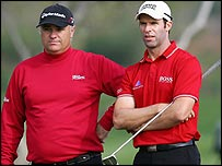 Bradley Dredge and Stephen Dodd