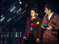 Still from TV series of the Hitchhiker's Guide to the Galaxy, BBC