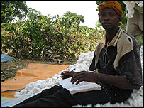 Ladji Kone, cotton farmer in Bohi in Mali