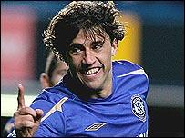 Chelsea's Hernan Crespo