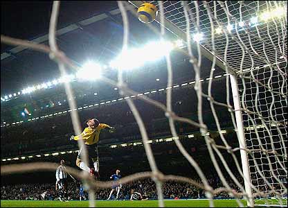 Shay Given is beaten