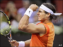 Rafael Nadal, tenista espa�ol.