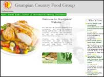 Grampian Food Group website grab