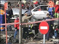 Eta attack in Madrid, February 2005