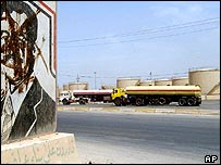 The Daura refinery on the outskirts of Baghdad, Iraq