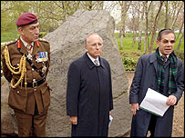 Gen Sir Mike Jackson, Lord Janner and survivor Rudi Oppenheimer