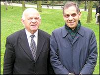 Ben Helfgott and Rudi Oppenheimer