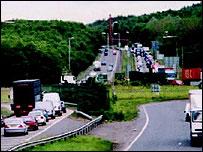Auchenkilns roundabout