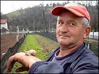 Bosnian snail farmer Kojo Lucic