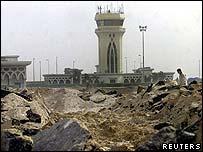 Gaza airport runway