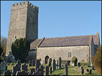 Llanwenog Church
