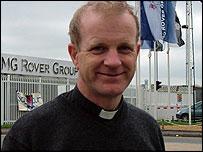 Pete Thomas MG Rover chaplain