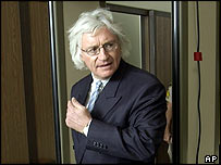 Thomas Mesereau arrives in court on 15 April