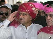 Pervez Musharraf in Ajmer, Rajasthan