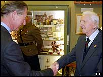 Alfred Anderson and Prince Charles - Mod Crown Copyright/PA
