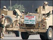 US convoy in Iraq