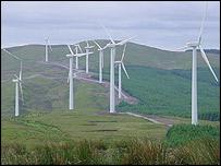 Cefn Croes wind farm, near Aberystwyth