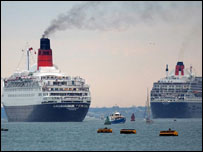QE2 and QM2