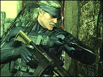 Screenshot of Metal Gear Solid 4