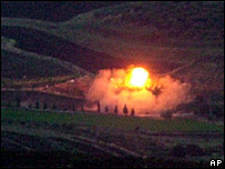 Explosion near Lebanese border
