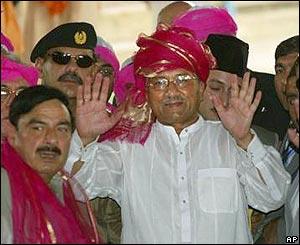 Pervez Musharraf in Ajmer