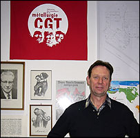 Rolf Homeyer in his Nexans office