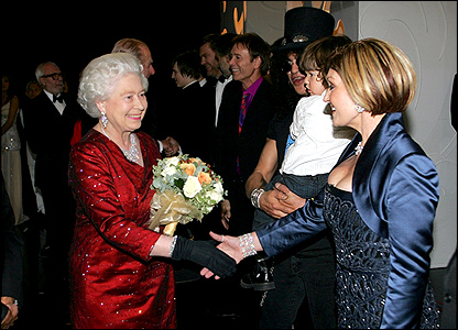 The Queen and the Osbournes