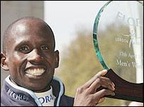 London Marathon winner Martin Lel