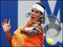Spanish teenager Rafael Nadal