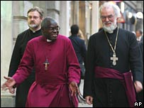 Dr John Sentamu and Archbishop Rowan Williams