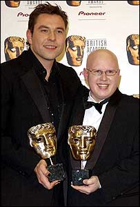 Little Britain stars David Walliams (left) and Matt Lucas