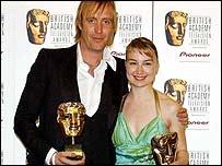 Rhys Ifans with Anamaria Marinca