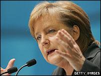 Angela Merkel, nueva jefa de gobierno alemana