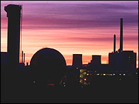 The Sellafield nuclear plant in Cumbria