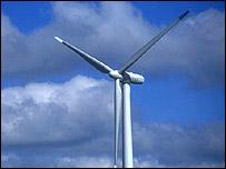 Wind turbine (picture courtesy of freefoto.com)