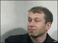 Sibneft and Chelsea FC owner Roman Abramovich