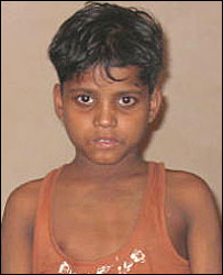 Mohammad Ramzani, one of the rescued child labourers