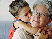 Child and pensioner