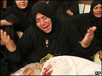 Relatives mourn Khadim Sarhid Hemaiyim