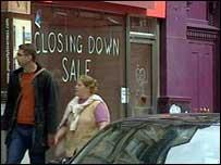 Closing down notice