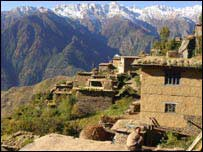 Barauntse village